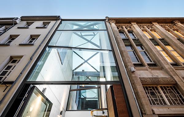 Galerie Café Kapuzinergasse_Corneille Uedingslohmann Architekten_Fotogra..8
